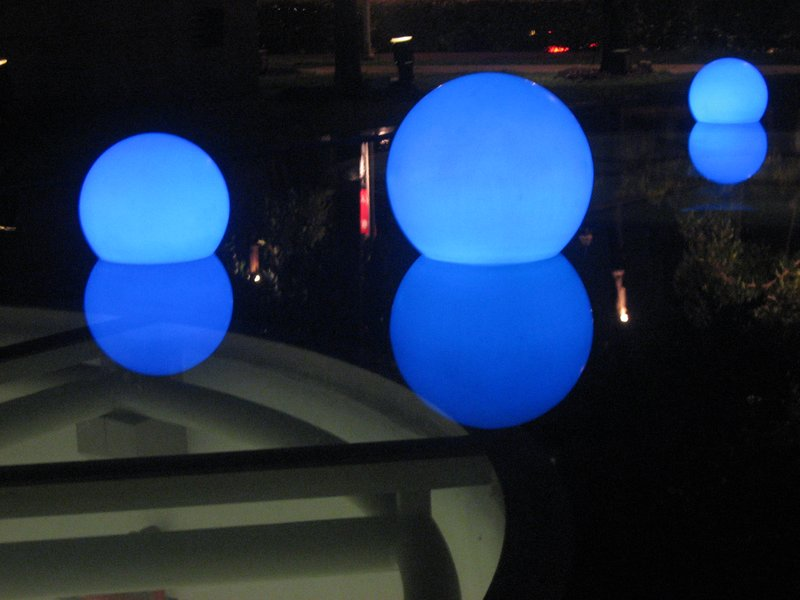 Floating Light balls