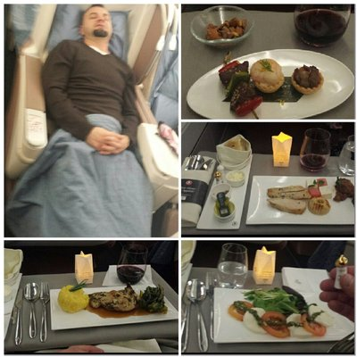 First class with Turkish Airlines