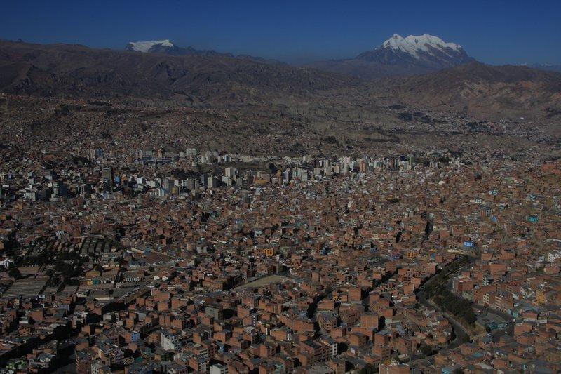 La Paz (from El Alto)