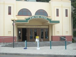 Art Deco Theatre in Napier, New Zealand