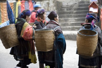 Mohnk Vendors in Sapa