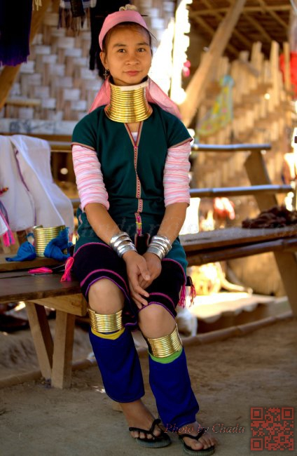Long-Neck Kayan - Mae Hong Son 01