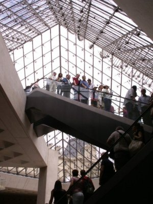 Louvre Escalators