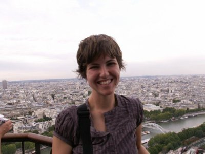 Me on the Eiffel Tower