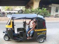 Rickshaw in Mumbai