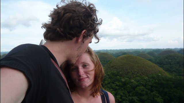 Us at the Chocolate Hills