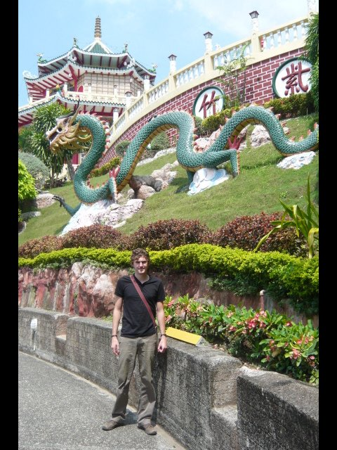 Adam at Taoist Temple
