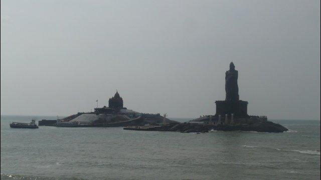 The Vivekananda Memorial & 40m Statue
