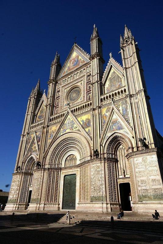 Orvieto's magnificent Duomo - Umbria