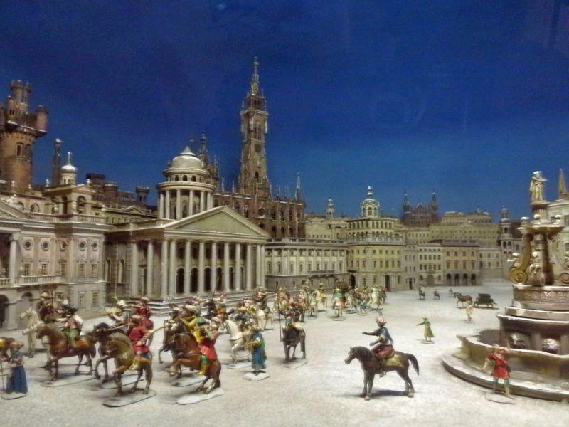 """Strange scene of """"Jerusalem"""" from our """"Kaiserzeit"""", it looks like Berlin - Munich"""