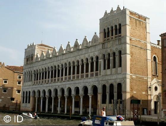 Byzantine: Fondaco dei Turchi at Canal Grande - Venice