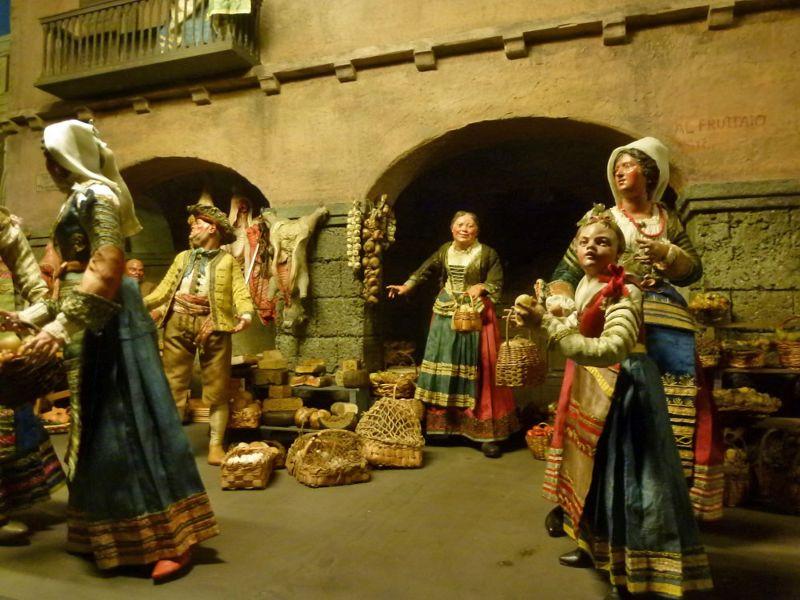 Scene from the Napoli nativity - Munich