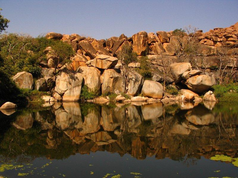 Lake, Hampi