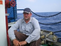 Leaving Port Blair by boat