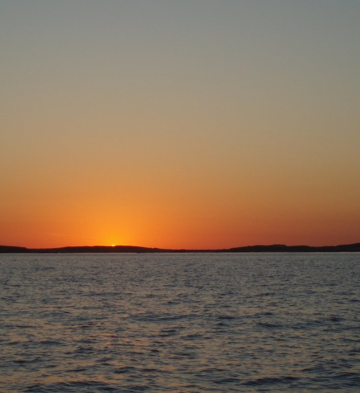 Sunset, Montebello Islands, Western Australia