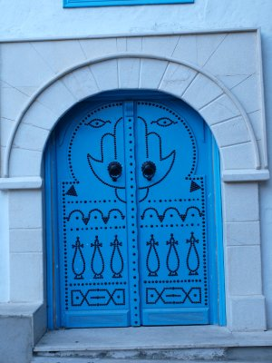 Blue Door at Sidi Bou Said