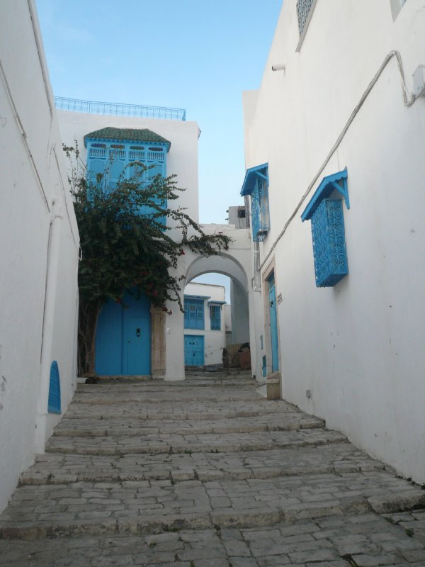 Alleys in Sidi Bou Said