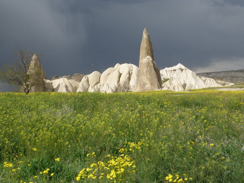 Storm brewing in Cappadocia