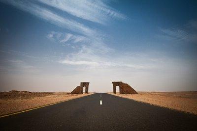 desert highway, Sudan