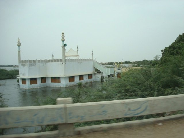Flooded mosque