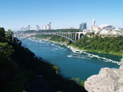 Rainbow Bridge in Niagara Gorge