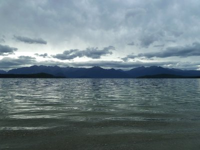 Marvellous Manapouri en route to Te Anau