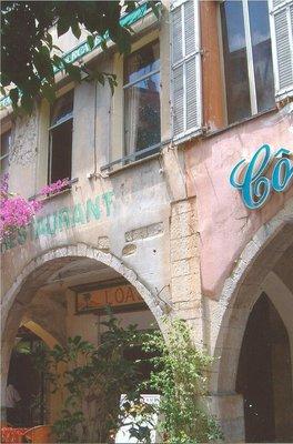 Cafe in Grasse, France