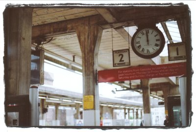 Acton West London Train Station