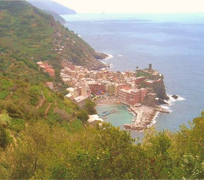 Hiking in the Cinque Terra
