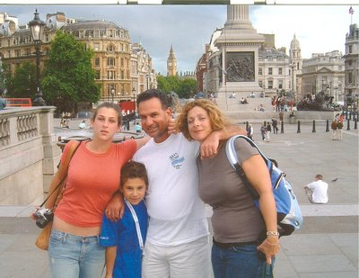 First Day of Summer in Trafalgar Square London