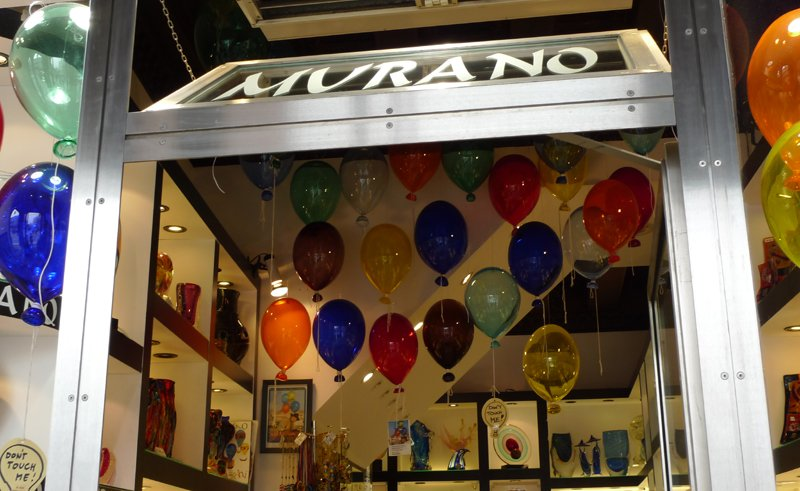 Colourful Murano Balloons