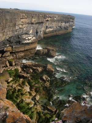 cliffs on inis mor.
