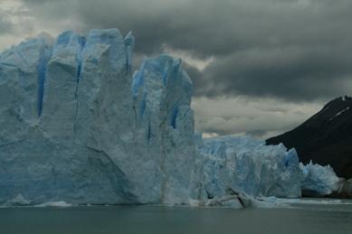 Perito Moreno glacier blue