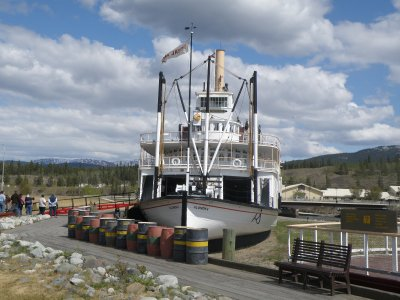 Klondike sternwheeler