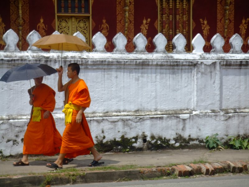 A Sunny Day in Luang Prabang
