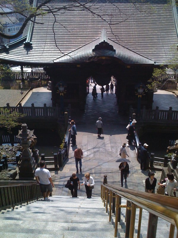 Original temple gate, Naritasan Shinshoji