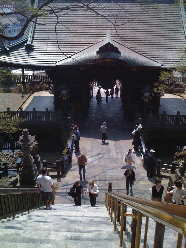 Original temple gate, Naritasan Shinshoji