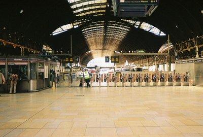 Paddington Train Station - London, England