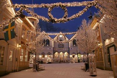 Liseberg Amusement Park, Goteborg, Sweden