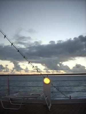 Sunrise on the Explorer