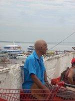 Man in Manaus Brazil