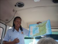 Our guide in Trinidad, Sherry Ann