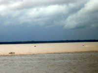 Meeting of waters, Rio Negro and Amazon