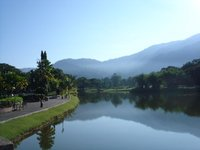 Taiping, Lake Gardens, a magnificent view in the early morning