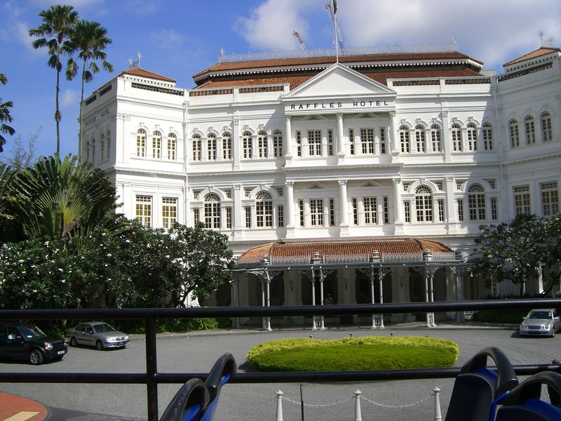 Raffles - oh for another Singapore Sling