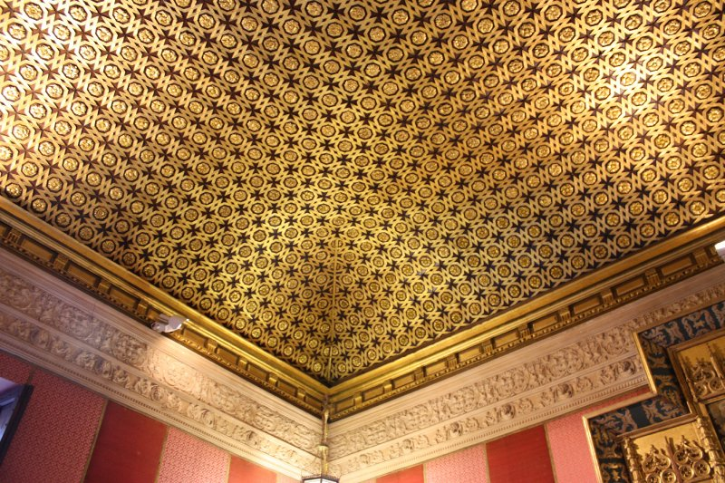 Alcazar ceiling in the Catholic section
