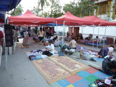 687 Setting up Night Market