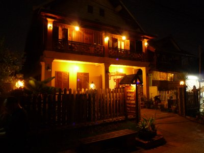 738 Guesthouse at Night