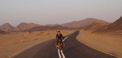 Nubian desert - clear day