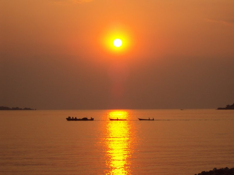 Tanganyika Sunset